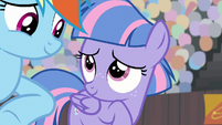 Wind Sprint smiling at Rainbow Dash S9E6