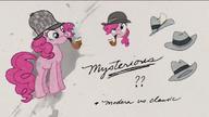 ZKKM 02 Pinkie Pie w ubraniach detektywistycznych