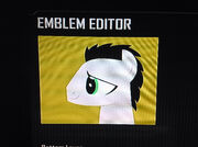 FANMADE Filly Please OC Swift Mane Black Ops 2 Emblem