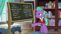 Firelight presents more chalkboard writings S8E8