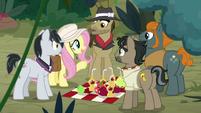 "Fluttershy ""having an adventure with friends!"" S9E21"