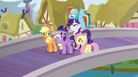 Mane Six with -oh, well- expressions S5E19