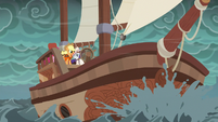 Ponies' ship sails the shaky waters S6E22