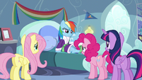 """Rainbow """"if you're here to cheer me up"""" S5E5"""