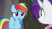 """Rainbow """"it's actually sorta neat"""" S8E17"""