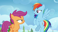 Rainbow bragging about the Wonderbolts S8E20