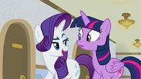 "Rarity ""only if we do it as ourselves"" S8E16"