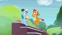 """Smolder """"supposed to be practicing"""" S9E15"""