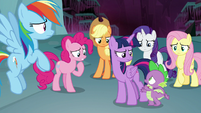 """Spike """"we're just as trapped as Tirek?"""" S8E25"""