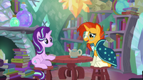 """Sunburst """"you and I to be friends again"""" S6E1"""
