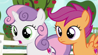 "Sweetie Belle ""we're your friends"" S6E19"