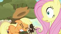Ticket Pony screams from the shadows S8E23