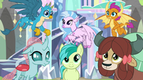 Young Six listening to Headmare Twilight S9E3