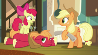 """Apple Bloom """"can't wait to see if I caught"""" S9E10"""
