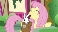 """Fluttershy """"settle in for a nice tea party"""" S9E18"""