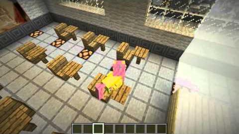 Let's Play Mine Little Pony Minecraft Mod - CloudsDale Map