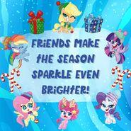 MLP Pony Life Instagram - Merry Christmas