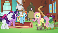 Rainbow Dash very impressed by Fluttershy S7E5