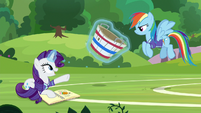 """Rarity """"I held my bucket and everything!"""" S8E17"""
