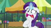 Rarity --you gave away your cannon-!-- S6E3