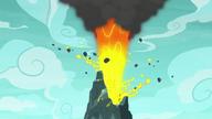S07E16 Wybuch wulkanu
