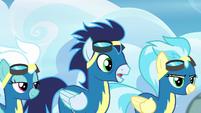 """Soarin """"are you okay, Rainbow Dash?"""" S6E7"""