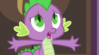Spike -we don't want to wake the princess- S5E10