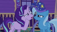 "Starlight Glimmer whispering ""one of them!"" S6E25"