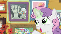 """Sweetie Belle """"another satisfied client!"""" S7E6"""