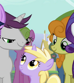 Written Script and Golden Harvest with filly Dinky Doo S2E14.png