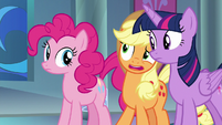 """Applejack """"just to tell us that?"""" S9E1"""