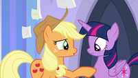 "Applejack ""our friendship with you"" S9E25"