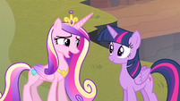 Cadance 'would've been more relaxing' S4E11