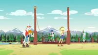 Campers shocked at Applejack's super strength EG4
