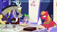 Discord apologizes to Spike and Big Mac S6E17