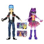 Friendship Games Flash Sentry and Twilight Sparkle toys