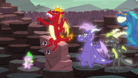 Garble --It's Dragon Lord Torch!-- S6E5