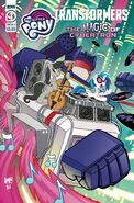 My Little Pony Transformers II issue 3 cover A