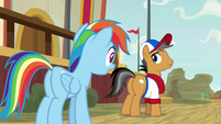 "Rainbow ""you should stop pretending!"" S9E6"