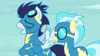 """Soarin """"Somepony who wanted her out of the show"""" S5E15"""