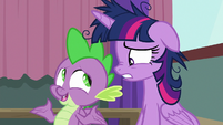 """Spike """"focus on how you're playing"""" S9E16"""