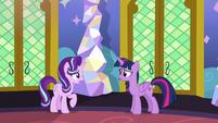 Starlight -not sure Sunburst wants to stay friends- S7E24