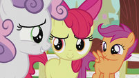 Sweetie Belle -that sounds like a yes- S5E18