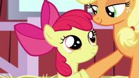 Apple Bloom feeling reassured S5E17