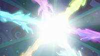 Crystal roots engulfed in light S8E26