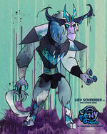 """MLP The Movie Storm King """"6weeks"""" poster"""
