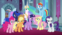 Mane Six shocked by Discord's deception S9E2