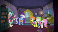 Moon Dancer joins her friends for a game S5E12