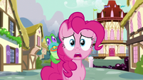 Pinkie -I can't tell Twilight or anypony- S5E19