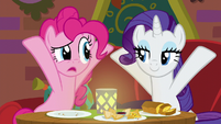 """Pinkie Pie confused """"what's it?"""" S6E12"""